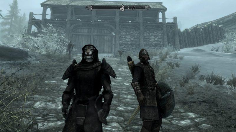 Skyrim~エリクとイヴァルステッドを目指す