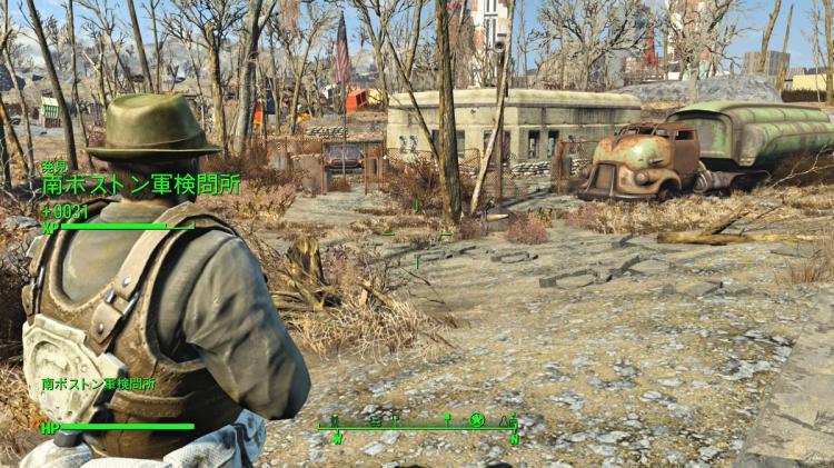 Fallout4~南ボストンを周る