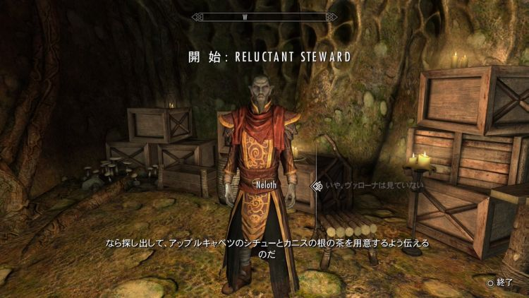 Skyrim~Reluctant Steward (気の進まない執事)