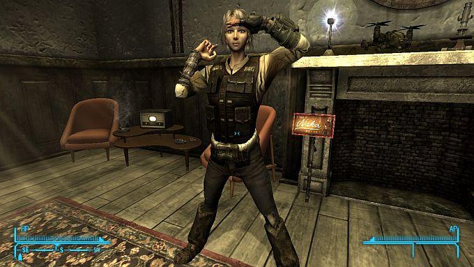 Fallout NewVegas ; Sari-Decembers Pose Pack NV(MOD)