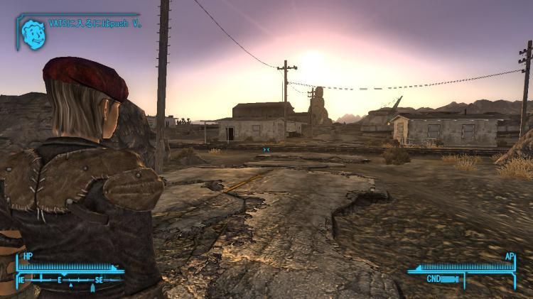 Fallout NewVegas ; ボルダーシティを目指す