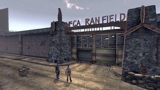 Fallout NewVegas ; キャンプマッカランからフリーサイドへ