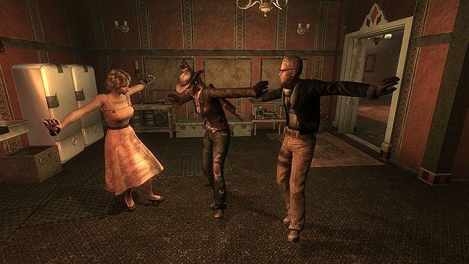 Fallout NewVegas ;FNV Dance Animation(MOD)