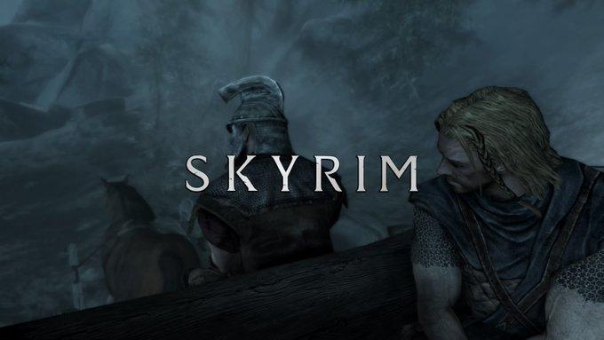Skyrim~Diyaab ヘルゲンにて