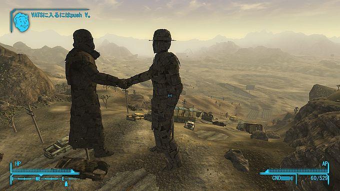 Fallout NewVegas ; SloanからBlack Mountainへ