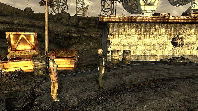 Fallout NewVegas ; デスクロー退治とオムレツ