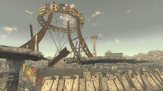 Fallout NewVegas ; Strip地区を目指す