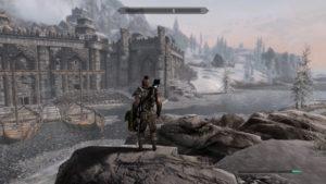 Skyrim~大蛇の石碑で氷の生霊を倒す(Midir編)