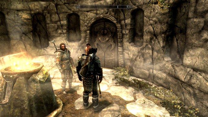 Skyrim~ ダストマンの石塚で秘密を知る(Midir編)