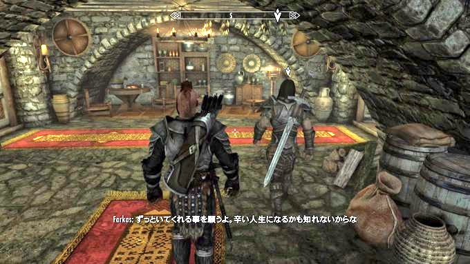 Skyrim~ 同胞団の入団試験が続く(Midir編)