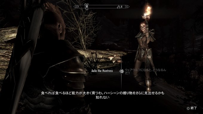 Skyrim~ギャロウズ・ロックにて(Midir編)