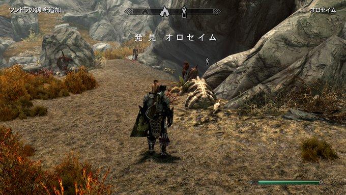 Skyrim~ウースラドの破片を回収する(Midir編)