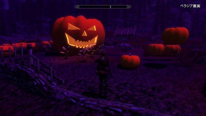 Skyrim~MOD紹介 Happy Halloween!(X-B0X1版)