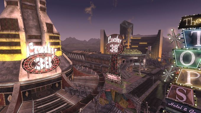 Fallout NewVegas ; Lucky38で一休み